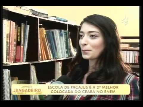 Nunes Moraes é a 2ª melhor colocada do Ceará no Enem