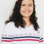 Camile medalhista de ouro na Olimpíada Canguru
