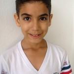 Fabrício Oliveira Batista (6º ano) medalhista de bronze na olimpíada Canguru.