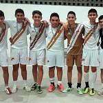 Vice-campeões do futsal do E.M. 2º ano B.