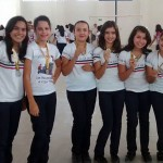 Medalhistas do interclasse 2015.