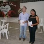 Coordenadores Luiz Menezes e Cássia Moura.