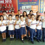 Medalhistas da Olimpíada Antares.