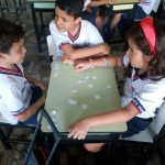 2º ano: memory game with numbers