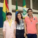 Medalhistas do 1° ano EM